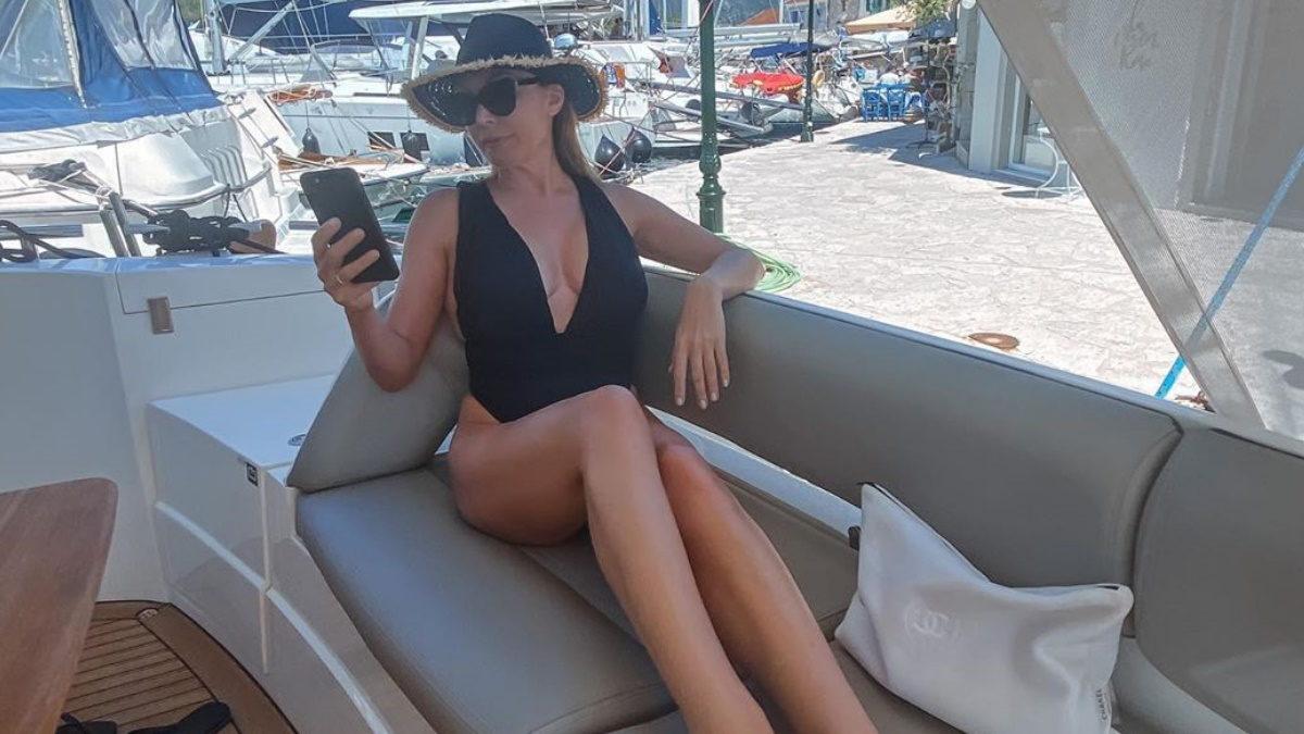 Τατιάνα Στεφανίδου: Οι υποβρύχιες φωτογραφίες που έβγαλε στις διακοπές της είναι εντυπωσιακές! | tlife.gr
