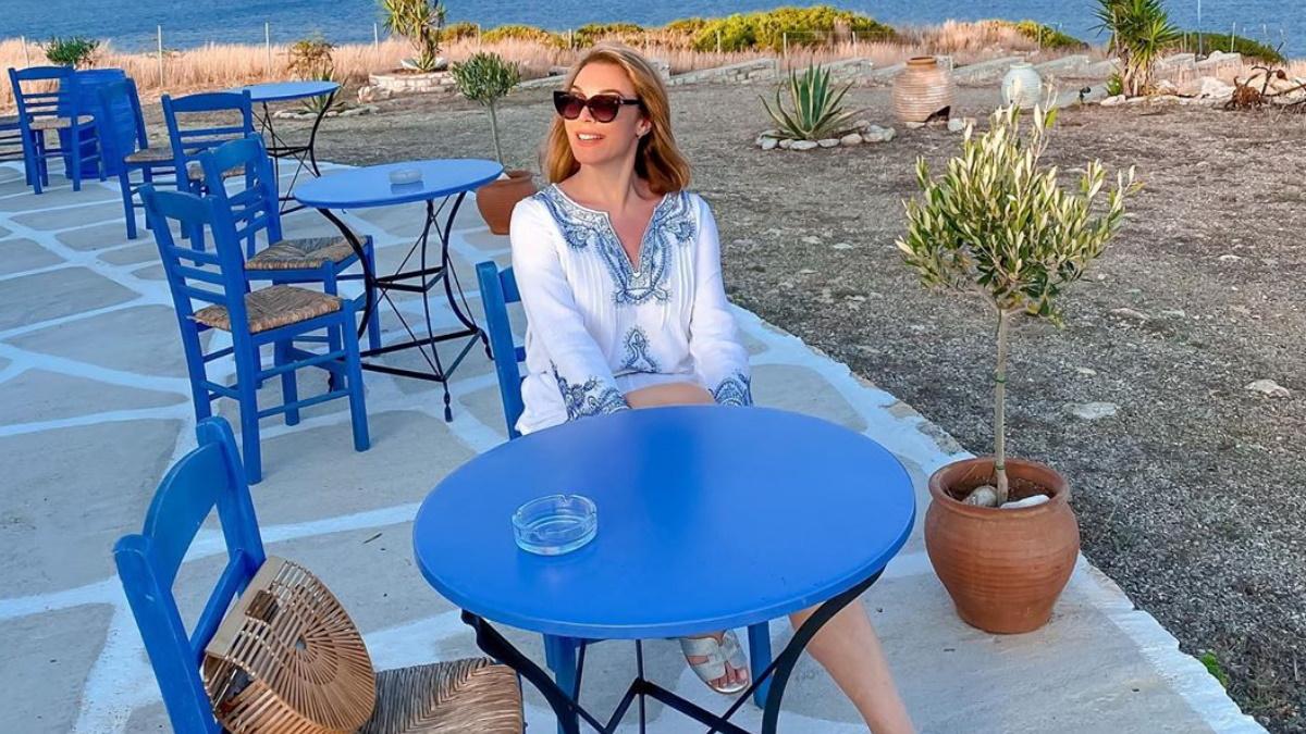 Τατιάνα Στεφανίδου: Φωτογραφίζει την κόρη της, Λυδία, στις καλοκαιρινές διακοπές τους!