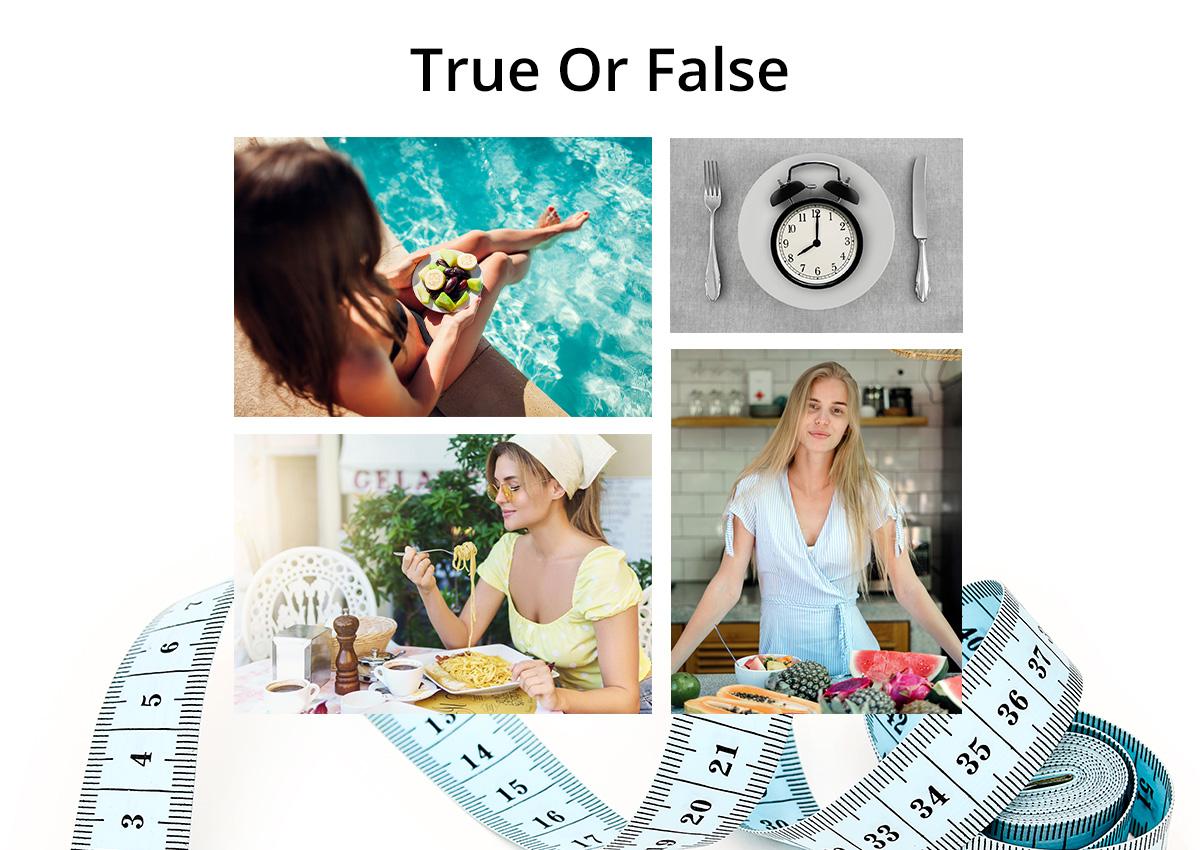 Μύθοι και αλήθειες γύρω από το αδυνάτισμα! Τελικά τι ισχύει και τι όχι;