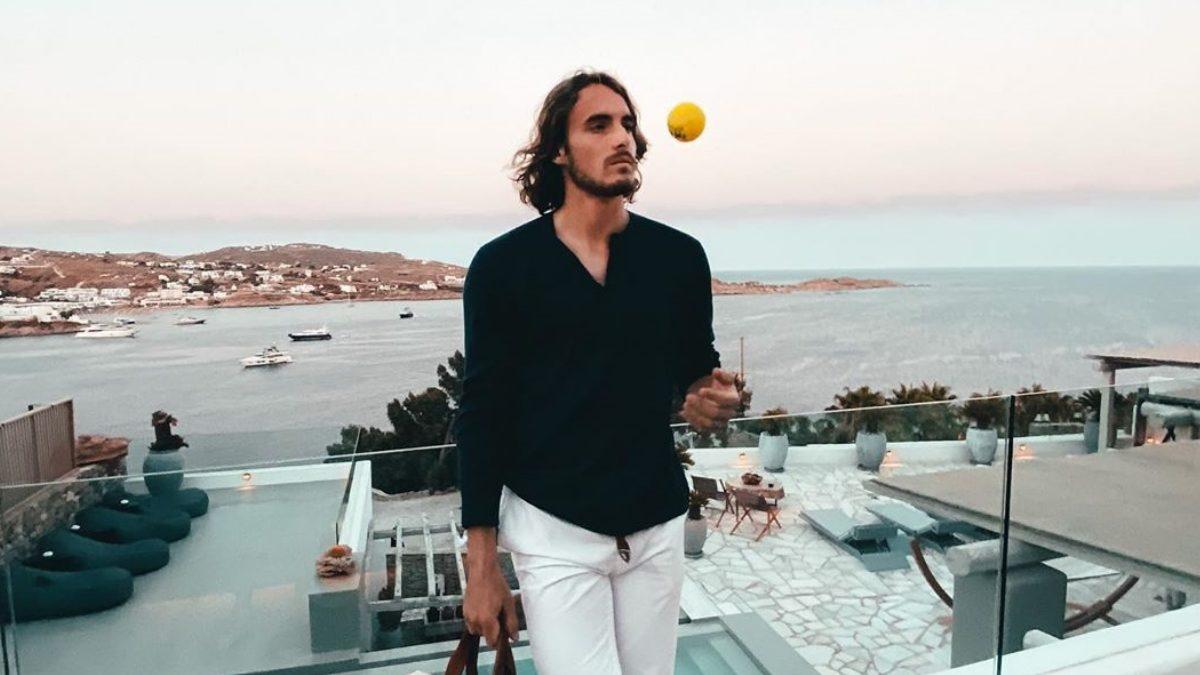 Στέφανος Τσιτσιπάς: Οι βόλτες με το σκάφος και τα βράδια στη Μύκονο με την σύντροφό του και φίλους! | tlife.gr