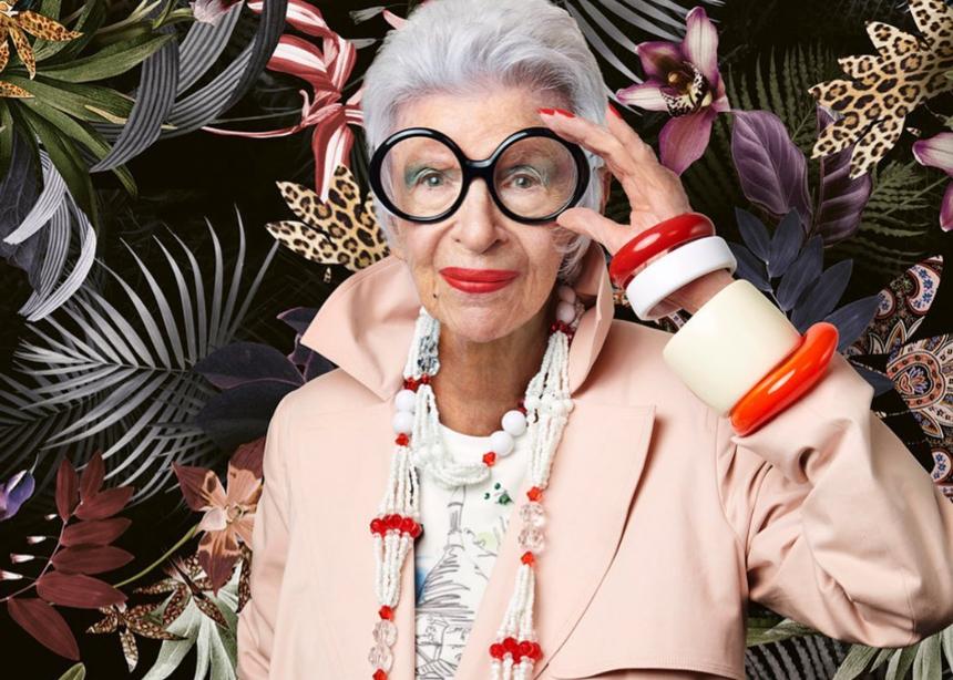 Η πιο στιλάτη γιαγιά της μόδας έγινε…99 ετών!