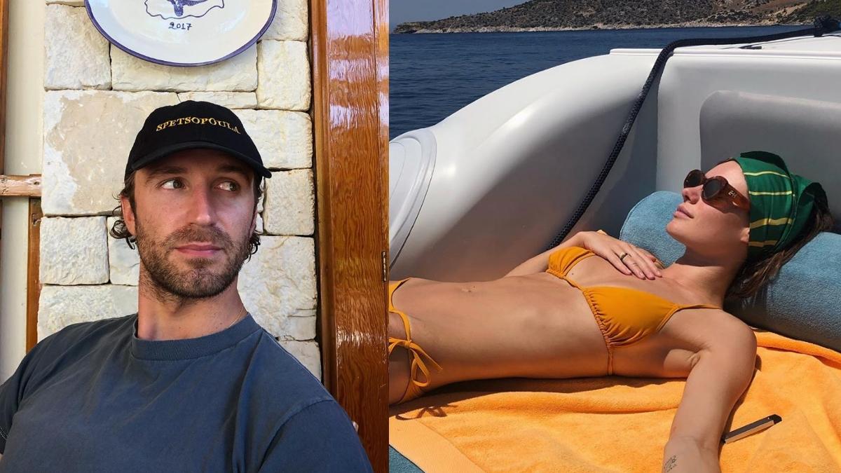 Ο Τεό Νιάρχος έκανε διακοπές στη Σπετσοπούλα με την καλλονή σύντροφό του! [pics]