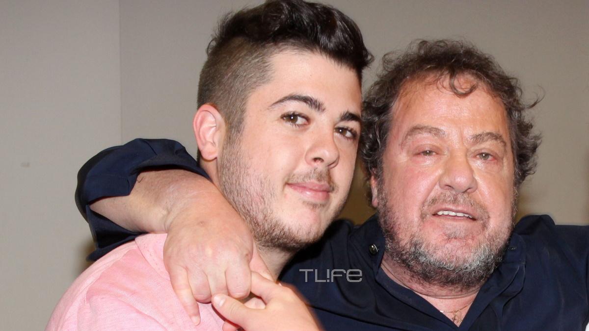 Γιάννης Πάριος: Δες πώς τα περνάει με τον γιο του, Μιχαήλ, στο εξοχικό τους στην Πάρο! [video]