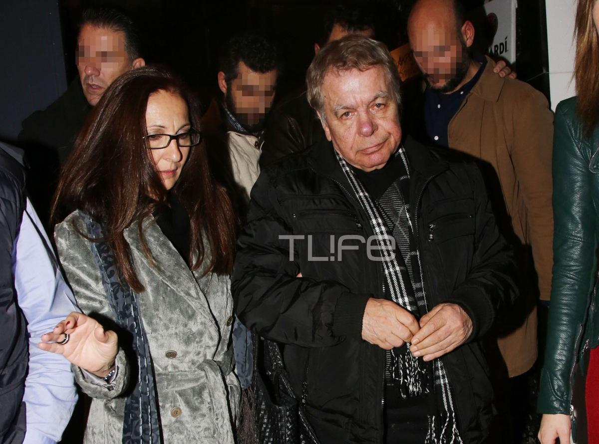 Γιάννης Πουλόπουλος: Η τελευταία βραδινή έξοδος του αγαπημένου τραγουδιστή με την σύζυγό του! Φωτογραφίες