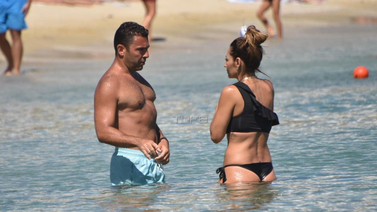 Αλέξανδρος Αγγλούπας – Όλγα Ζαπουνίδου: Full in love σε παραλία της Μυκόνου, μετά τον παραμυθένιο γάμο τους!