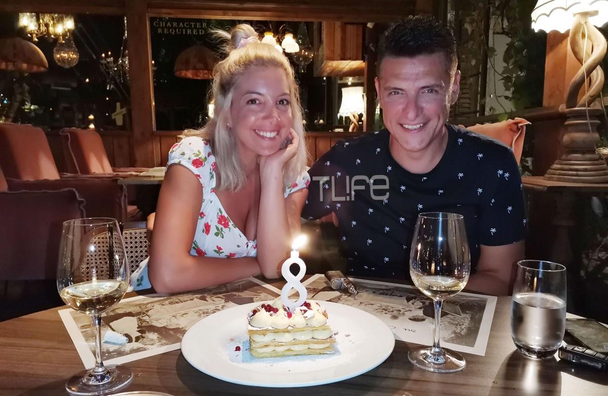 Χρίστος Αντωνιάδης: Ρομαντικό δείπνο για την 8η επέτειο του γάμου του με την κατα 18χρόνια νεότερη σύζυγό του! [Pics]
