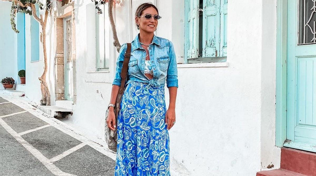 Αθηνά Οικονομάκου: Οι βόλτες με το σκάφος και το αγαπημένο της μέρος στα Κύθηρα! [pics,vid]