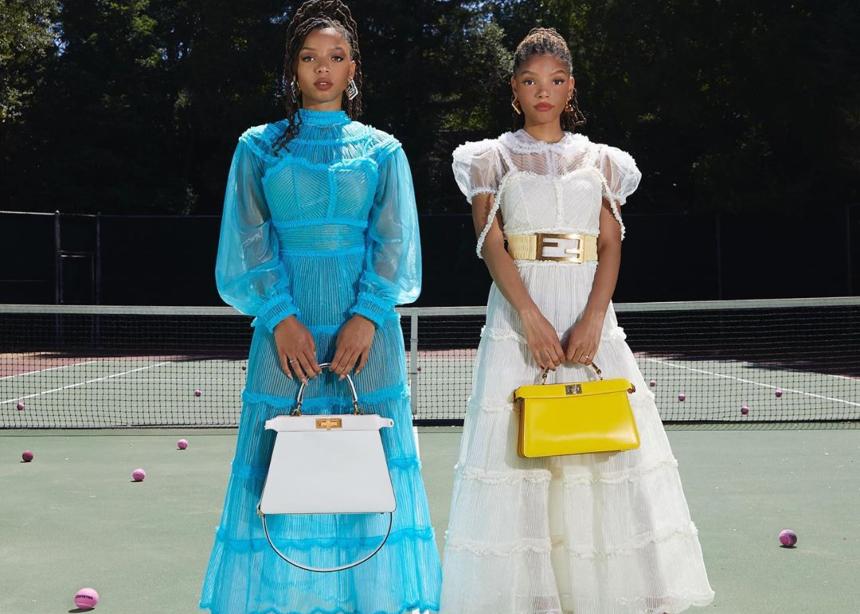 Το διάσημο δίδυμο Chloe x Halle αναλαμβάνει την νέα Fendi καμπάνια