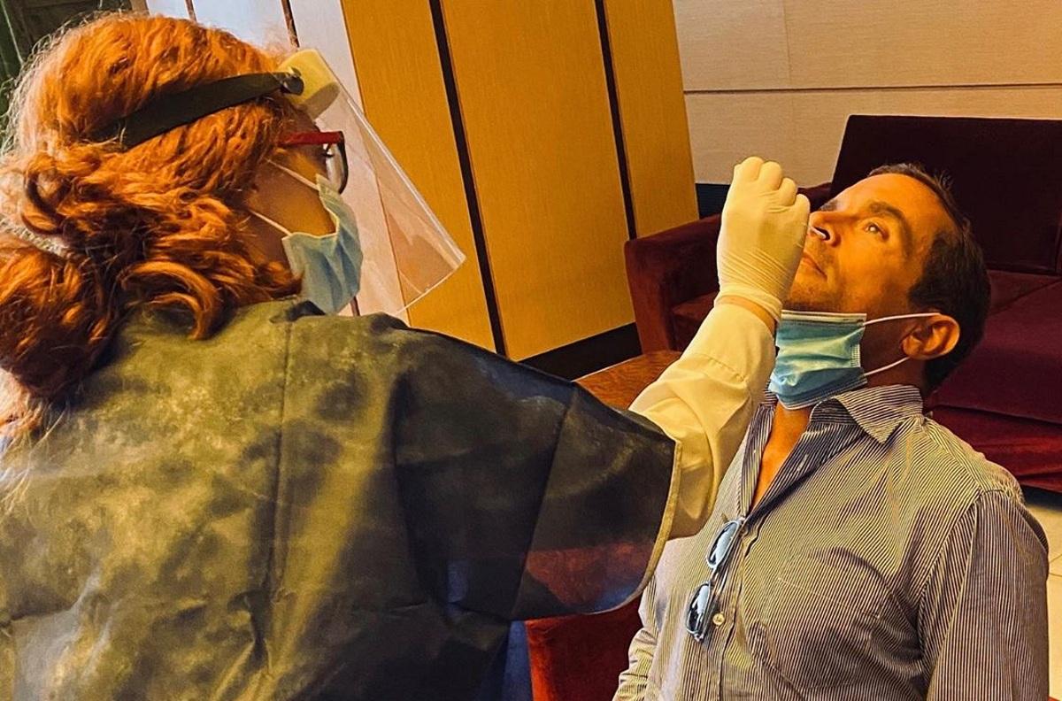 Kωνσταντίνος Μαρκουλάκης: Επιστροφή στο θέατρο με μάσκα και τεστ κορονοϊού! Φωτογραφία