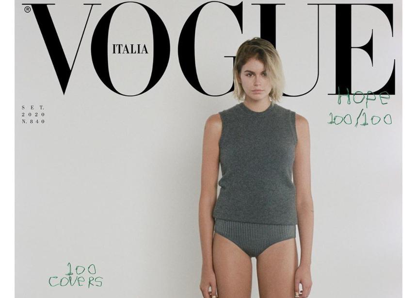 H ιταλική Vogue κάνει ξανά την ανατροπή και κυκλοφορεί με…100 διαφορετικά εξώφυλλα