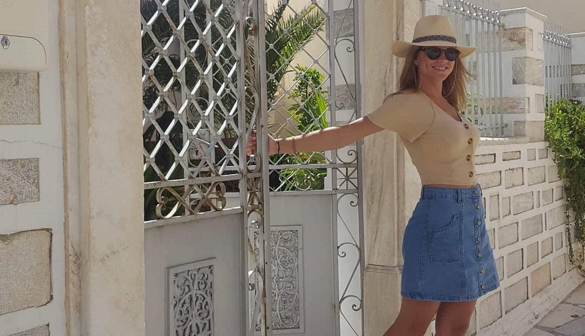 Δανάη Μιχαλάκη: Μας δείχνει την εντυπωσιακή θέα που έχει στις διακοπές της [pic]