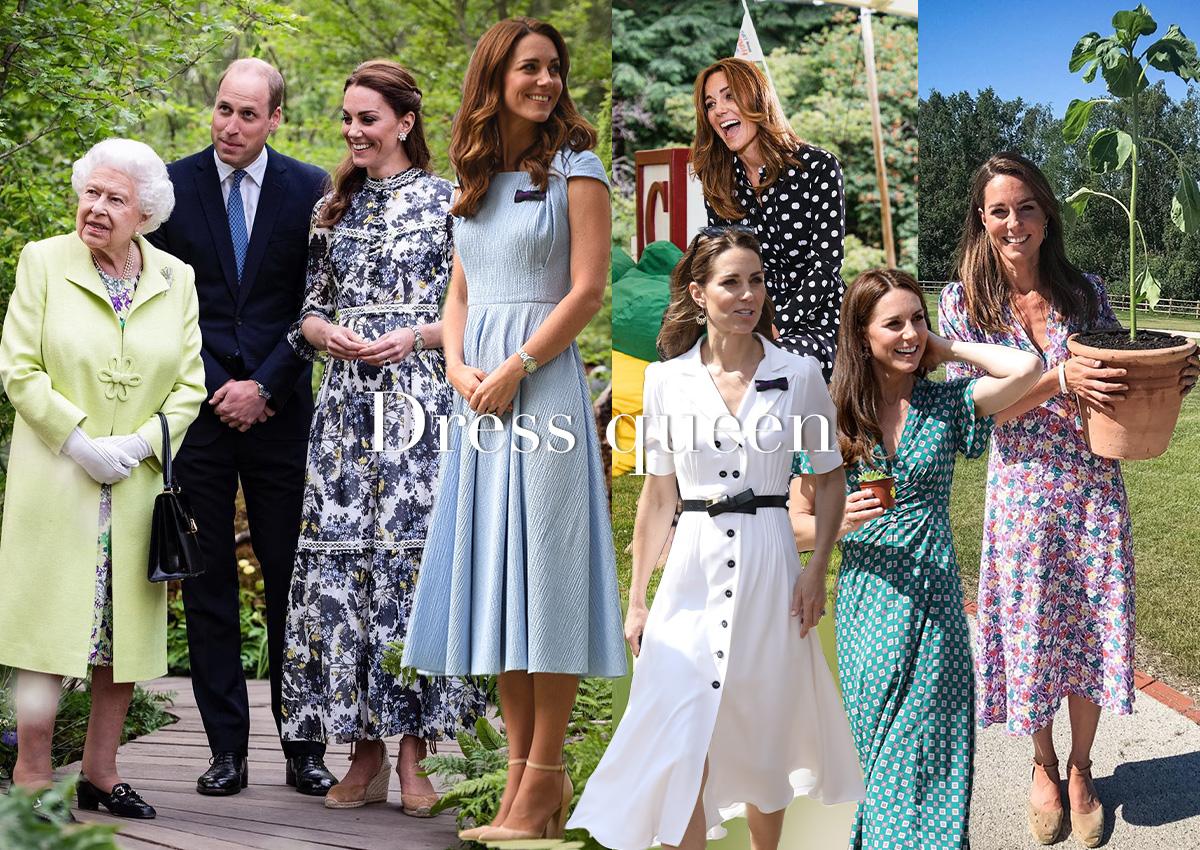 Η Kate Middleton φοράει τα φορέματα με τον πιο στιλάτο τρόπο