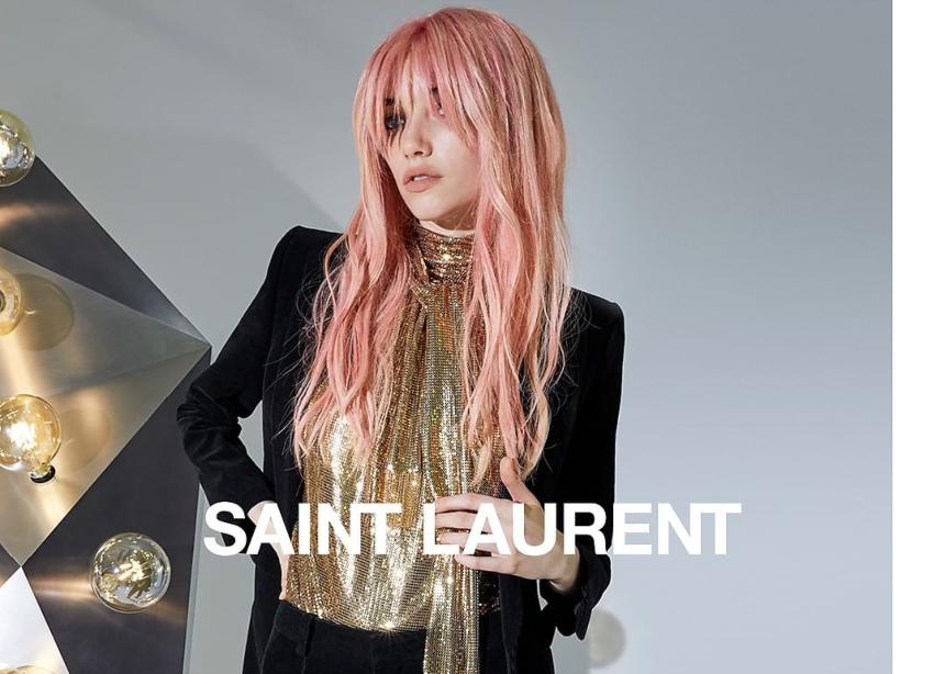 H φθινοπωρινή καμπάνια του οίκου Saint Laurent