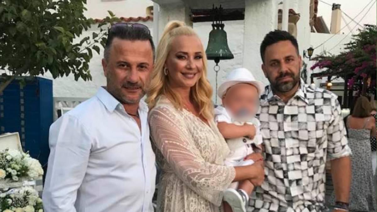 Γιώργος Γιαννιάς – Ελευθερία Παντελιδάκη: Βάφτισαν τον μικρό τους γιο στη Ρόδο!