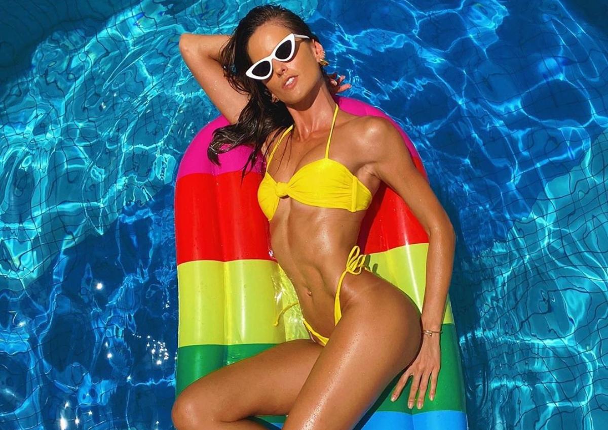 Izabel Goulart: Τα fitness μυστικά του top model που πέρασε το καλοκαίρι του στην Ελλάδα