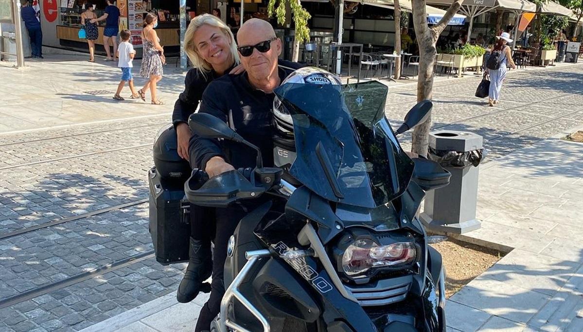 Χριστίνα Κοντοβά – Τζώνη Καλημέρης: Επιστροφή στην Αθήνα μετά από 24 μέρες ταξιδιού με τη μηχανή! [pics]
