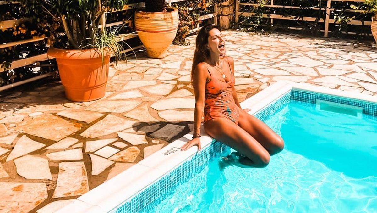 Κατερίνα Παπουτσάκη: Οικογενειακές διακοπές στην Κεφαλλονιά! [pics]