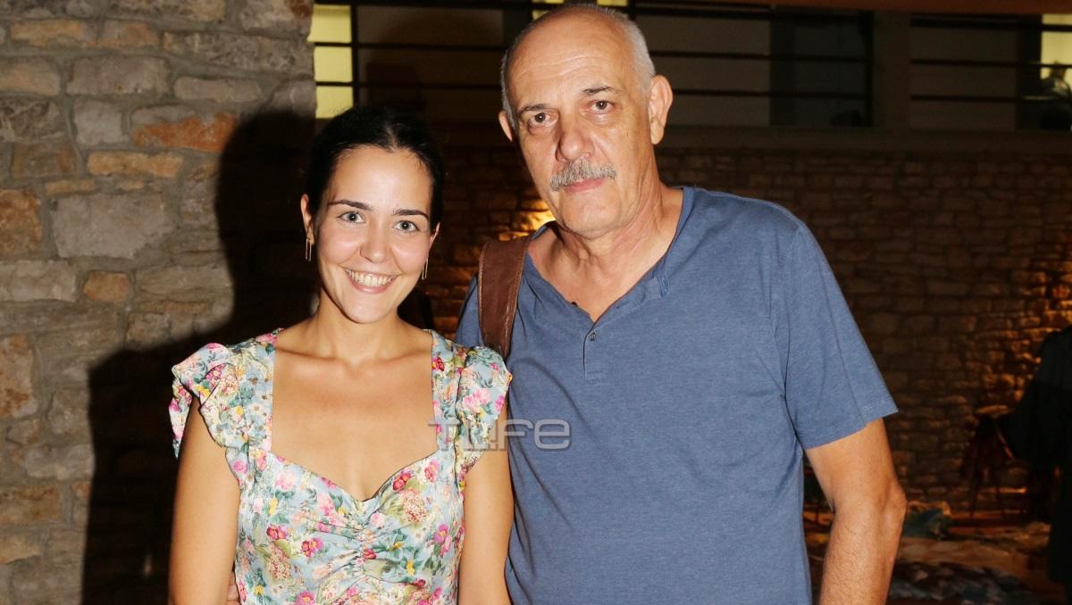Γιώργος Κιμούλης: Καμάρωσε την κόρη του στην Επίδαυρο [pics]