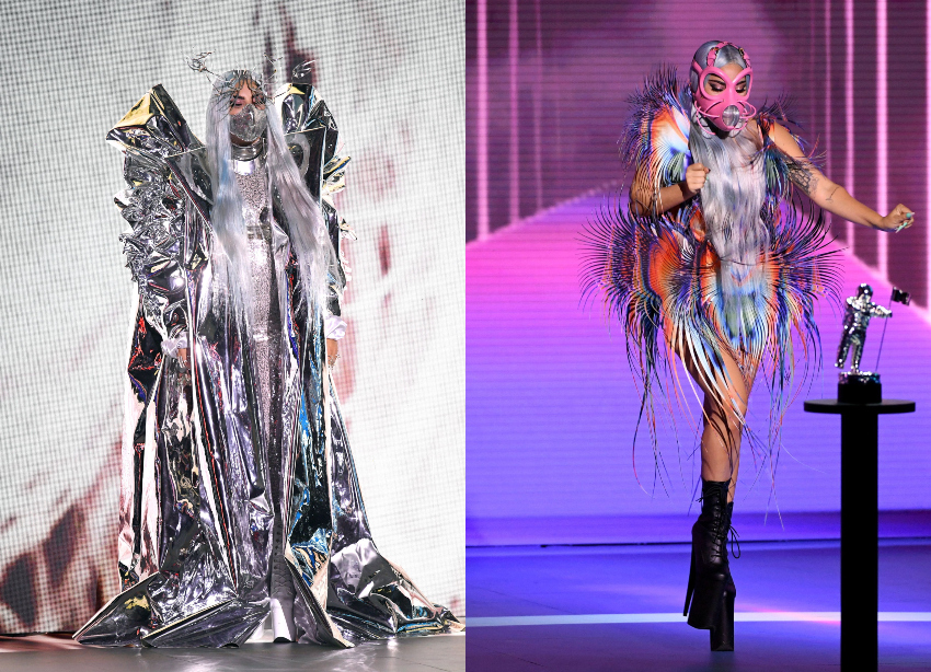 MTV VMAs 2020 :Oι εντυπωσιακές εμφανίσεις της Lady Gaga