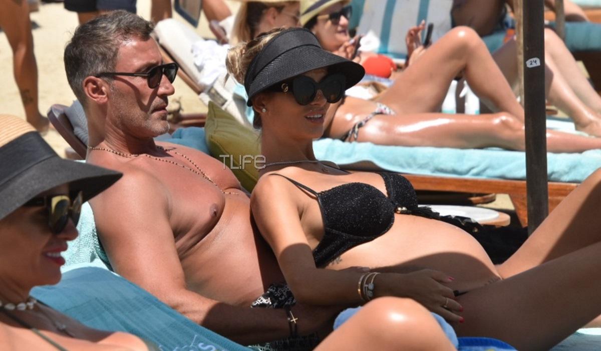 Αλεξάνδρα Λοΐζου: Στην Μύκονο με τον Κύπριο μεγιστάνα σύζυγό της, σε προχωρημένη εγκυμοσύνη! [pics]