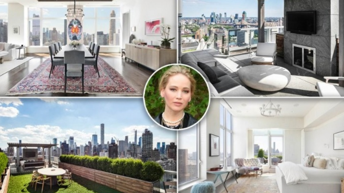 Η Τζένιφερ Λόρενς πούλησε το πολυτελές σπίτι της στη Νέα Υόρκη! Δες το εσωτερικό του [video]