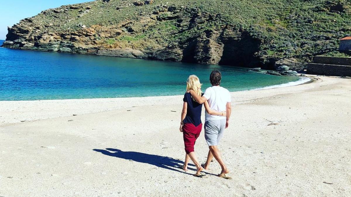 Μάκης Παντζόπουλος: Το βίντεο που δημοσίευσε από την παραλία στα Άχλα θα σε κάνει να ζηλέψεις!