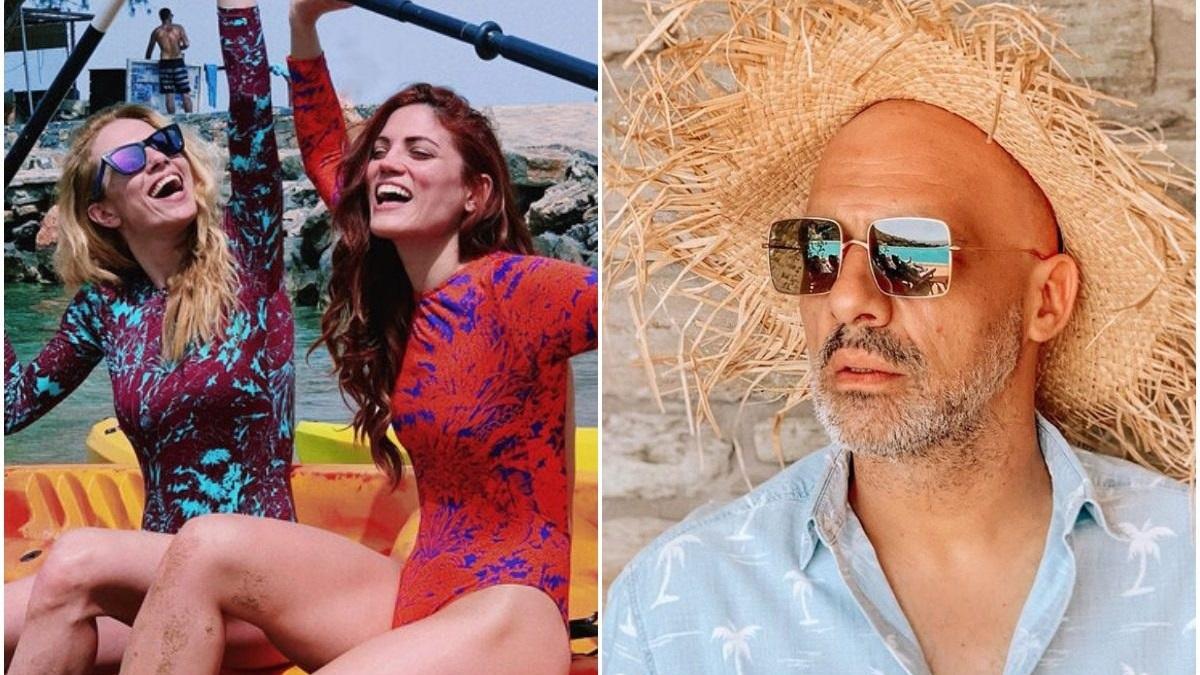 Νίκος Μουτσινάς: Διακοπές στην Κύθνο μαζί με τη Μαίρη Συνατσάκη και την Ντορέττα Παπαδημητρίου [pics]
