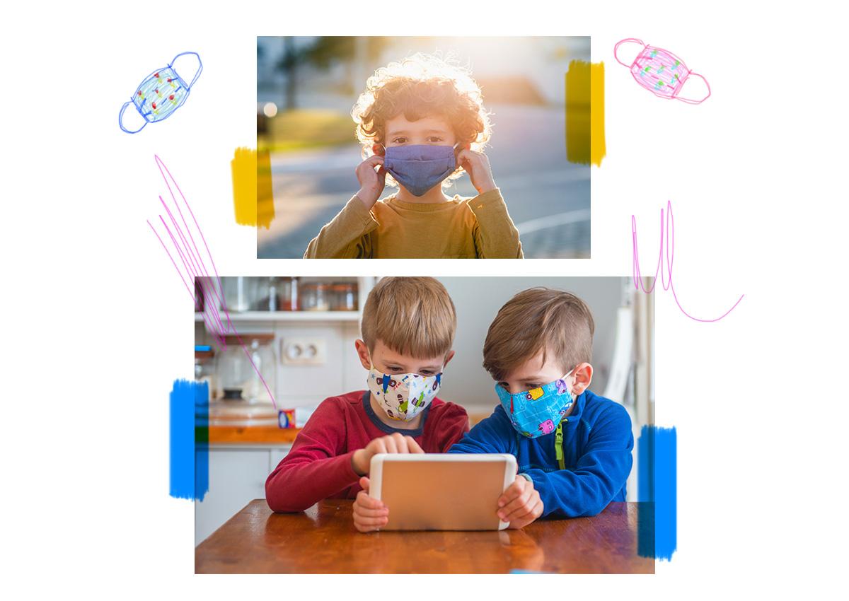 Μάσκες και παιδιά: Ο Δρ. Σπύρος Μαζάνης εξηγεί γιατί και πώς πρέπει να τις φοράνε