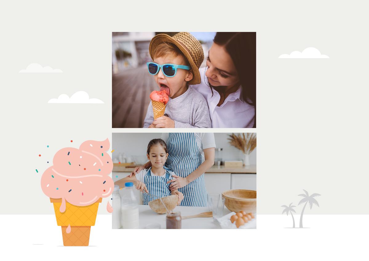 Λαχταριστό παγωτό: 5 συνταγές που μπορείς να ετοιμάσεις (και να απολαύσεις) με το μικρό σου