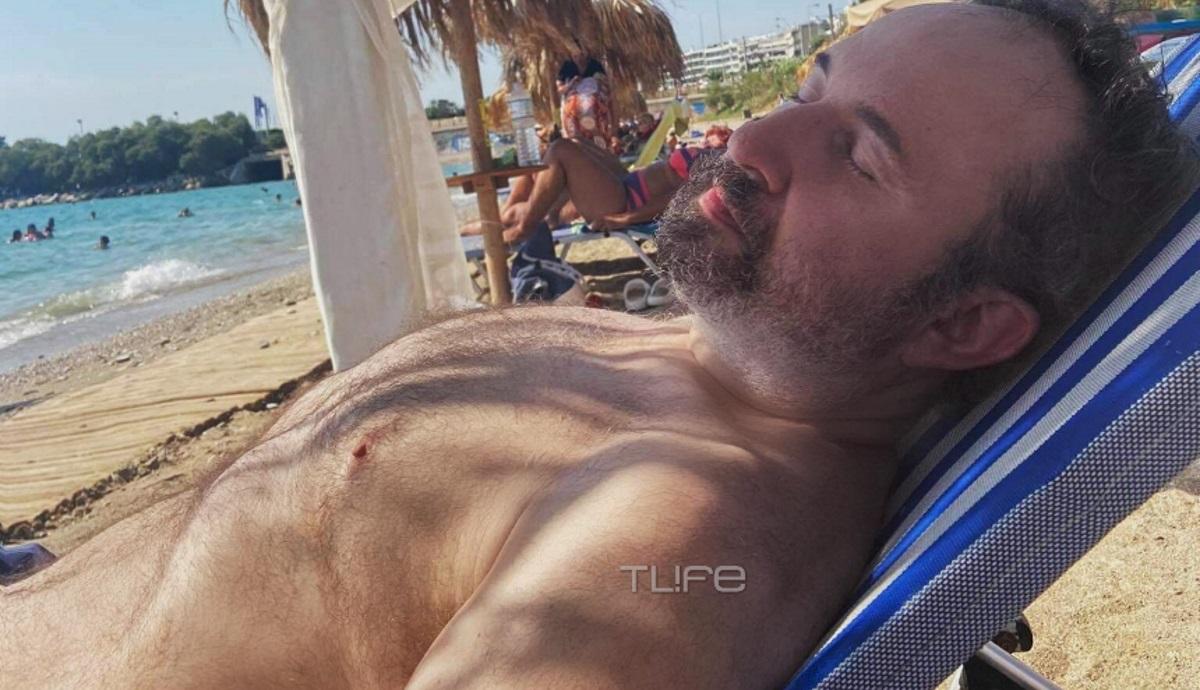 Γιάννης Παπαμιχαήλ: Απόλαυσε το πρώτο μπάνιο στη θάλασσα μετά την απώλεια των 60 κιλών