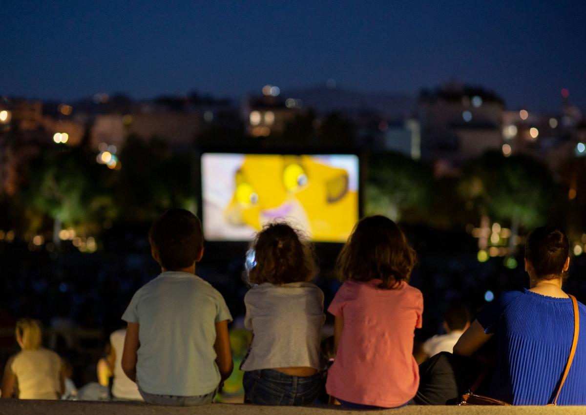 """""""Park Your Cinema"""": Το ΚΠΙΣΝ φέρνει στο Ξέφωτο ένα πρόγραμμα γεμάτο από παιδικές ταινίες!"""