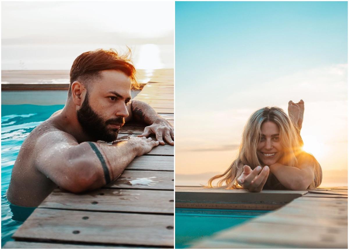 Πέτρος Πυλαρινός – Βάλια Χατζηθεοδώρου: Διακοπές στη Λευκάδα για το ερωτευμένο ζευγάρι [pics,vid]