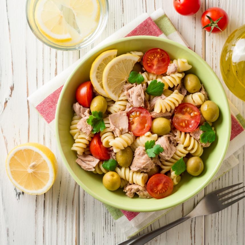 Συνταγή για σαλάτα τόνου με φούζιλι
