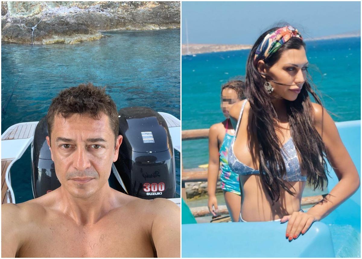 Αντώνης Σροίτερ – Ιωάννα Μπούκη: Οικογενειακές διακοπές στις Σπέτσες [pics]