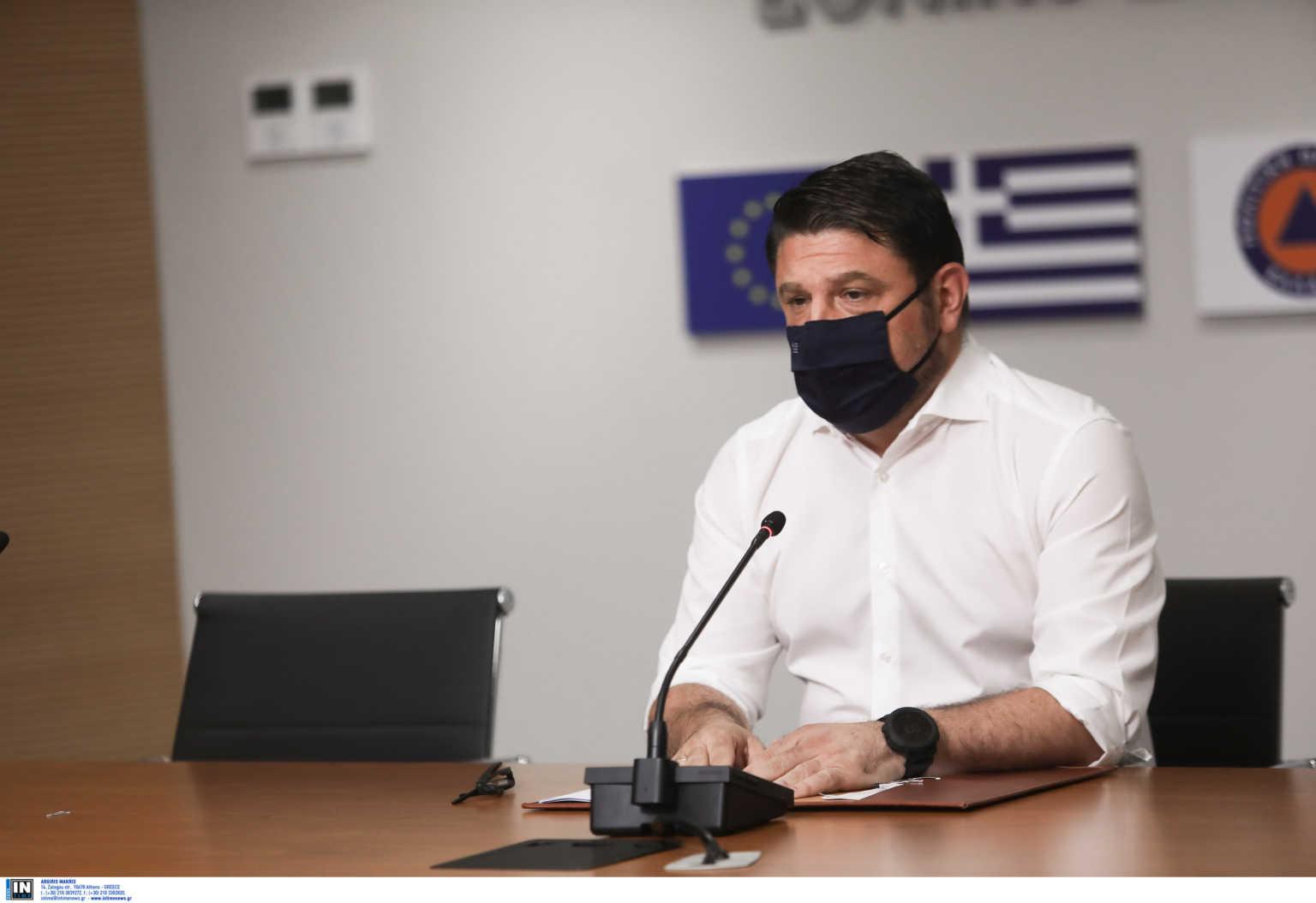 """Κορονοϊός: Ο Χαρδαλιάς ενημερώνει για τις εξελίξεις – """"Συμφωνήσαμε για το εμβόλιο"""""""
