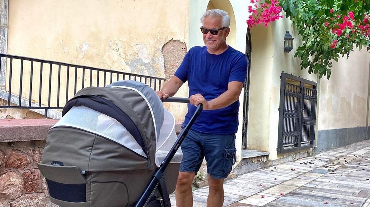 Χάρης Χριστόπουλος: Η εξομολόγηση για τις πρώτες ημέρες με τον γιο του [video]
