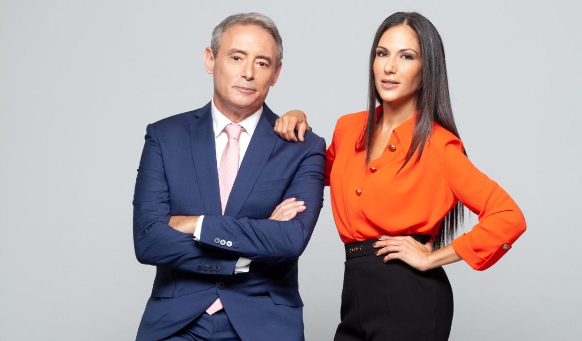 Ο Ιορδάνης Χασαπόπουλος και η Ανθή Βούλγαρη έρχονται με το «Κοινωνία Ώρα MEGA»!