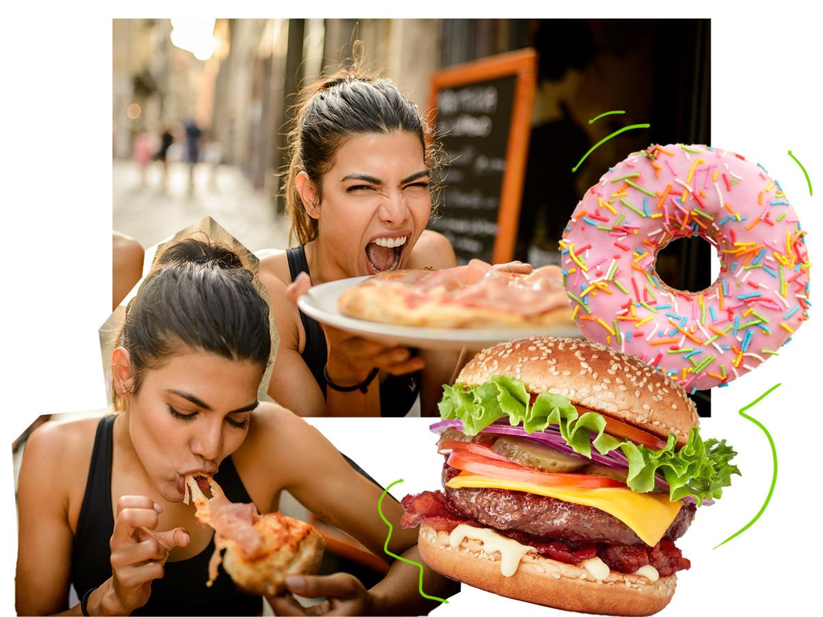 Junk Food: Τα σημάδια στο σώμα σου που δείχνουν ότι το έχεις παρακάνει με τις διατροφικές ατασθαλίες