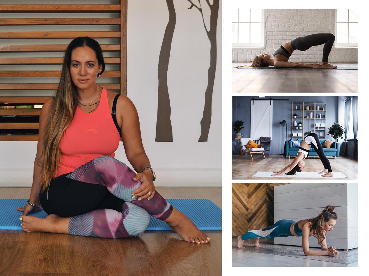 5 ασκήσεις για όλο το σώμα από την Μάντη Περσάκη