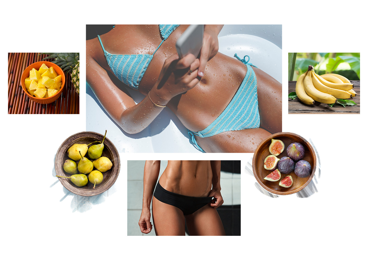 Τα φρούτα που θα σου χαρίσουν επίπεδη κοιλιά