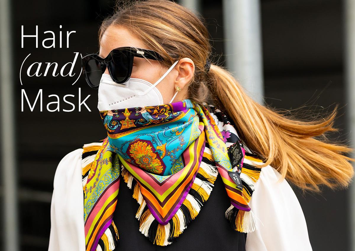 Αυτά είναι τα τρία συχνότερα χτενίσματα που κάνουν οι διάσημες όταν φοράνε μάσκα!