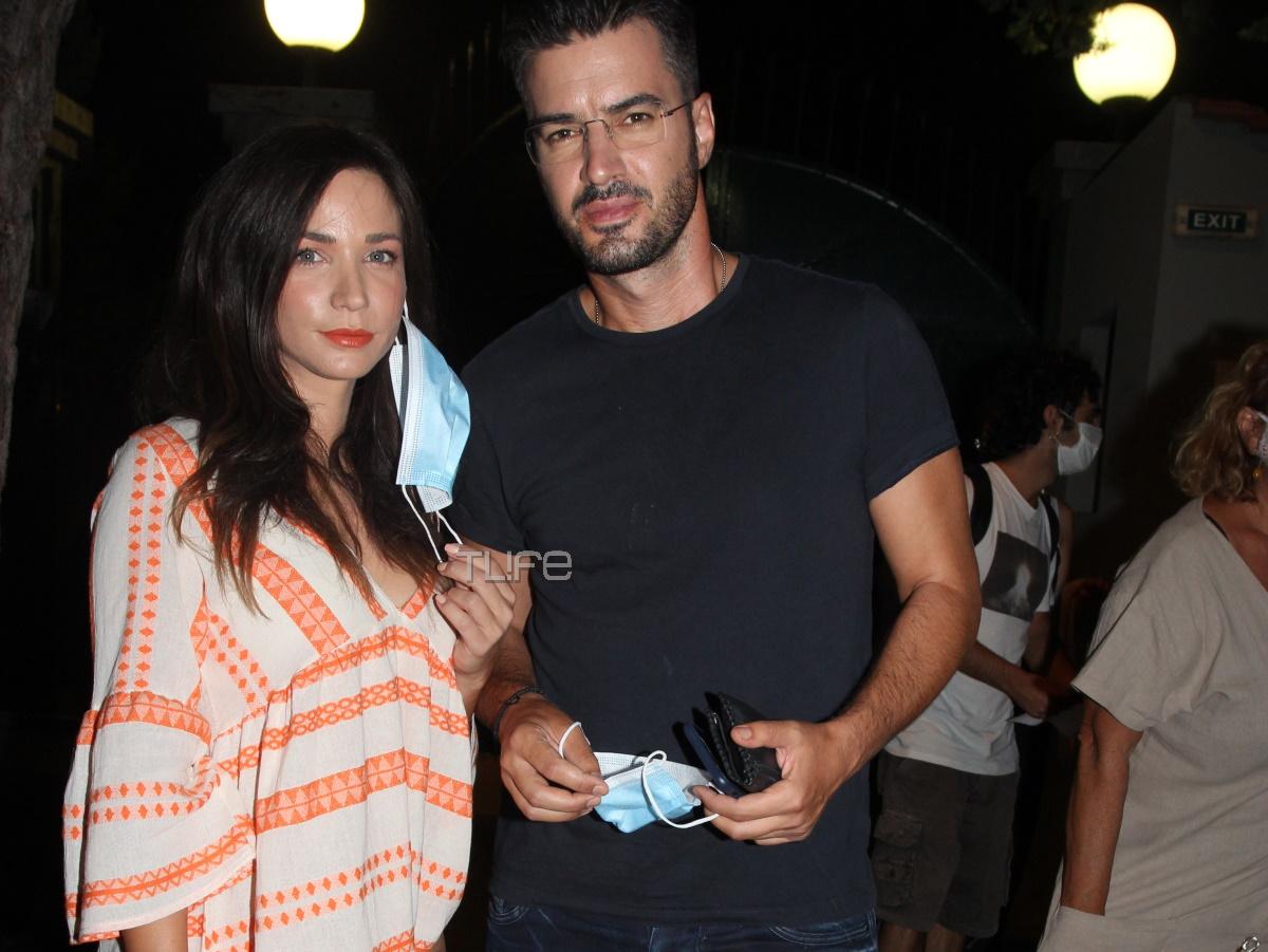 Κατερίνα Γερονικολού – Γιάννης Τσιμιτσέλης: Πρώτη βραδινή έξοδος στην Αθήνα μετά τις διακοπές τους! [pics]
