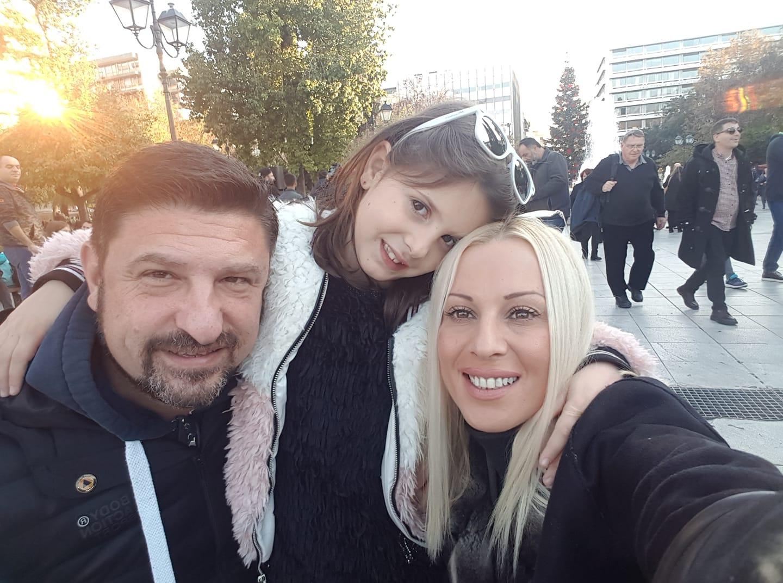 Νίκος Χαρδαλιάς: Η μικρή κόρη του στο σχολείο με την πιο όμορφη μάσκα (φωτογραφία)