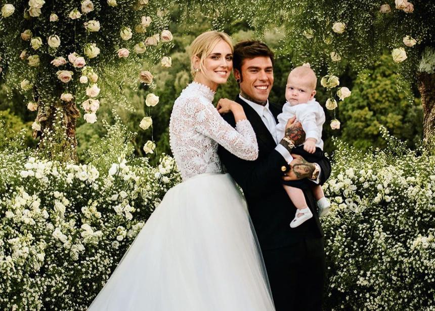 Η Chiara Ferragni έχει επέτειο γάμου και μας θυμίζει το υπέροχο νυφικό της