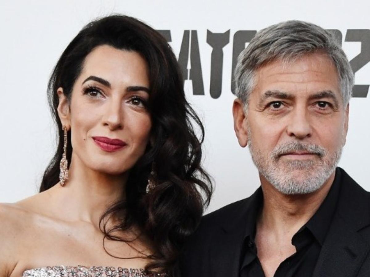 Ο George και η Amal Clooney στη δίκη του Ρουσεσαμπαγκίνα
