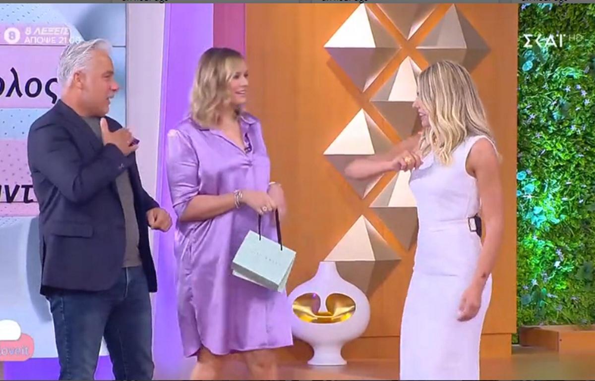 Ανίτα Μπραντ: Η πρώτη τηλεοπτική της εμφάνιση μετά τη γέννηση του Χριστόπουλου Junior! Video