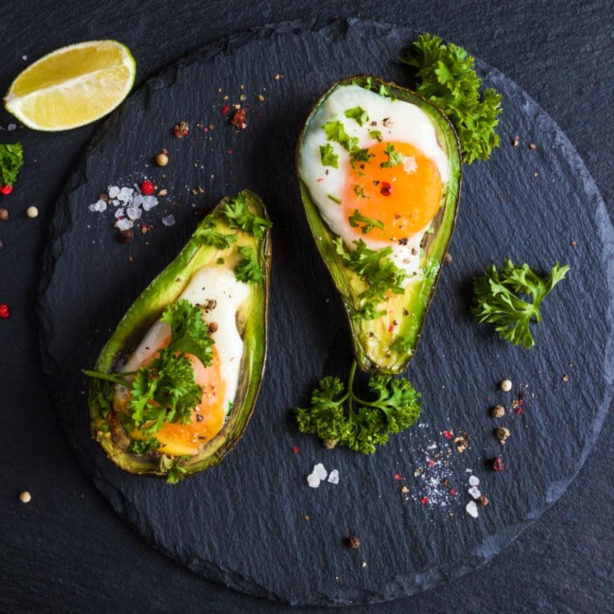 Συνταγή για αβοκάντο γεμιστό με αβγό