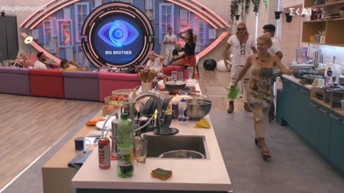 "Big Brother: Έντονος καβγάς ανάμεσα σε Άννα Μαρία Ψυχαράκη και Δημήτρη Πυργίδη – ""Είσαι τρελή"" (video)"