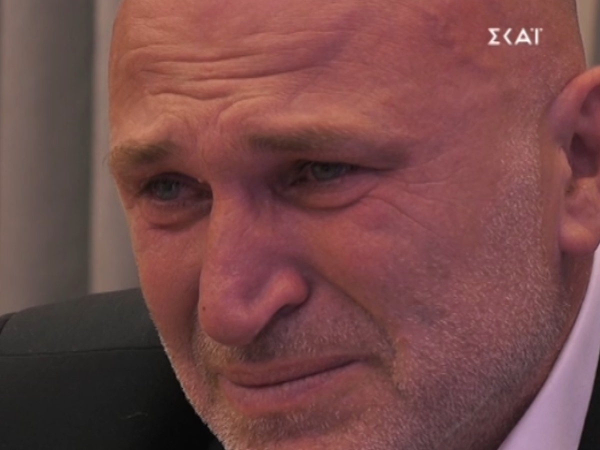 Big Brother: Πλάνταξε στο κλάμα, ο Αντιδήμαρχος στο άκουσμα της γυναίκας και της κόρης του (video)