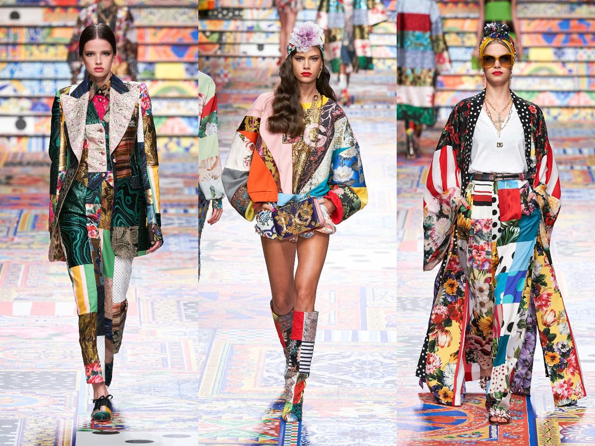 To εντυπωσιακό show των Dolce & Cabbana ήταν ένας ύμνος στο… Patchwork!